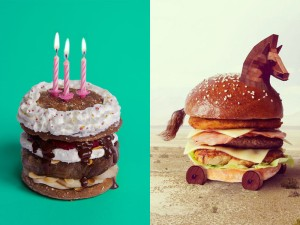 Insanely Delicious Hamburger Art Makes Us Hungry
