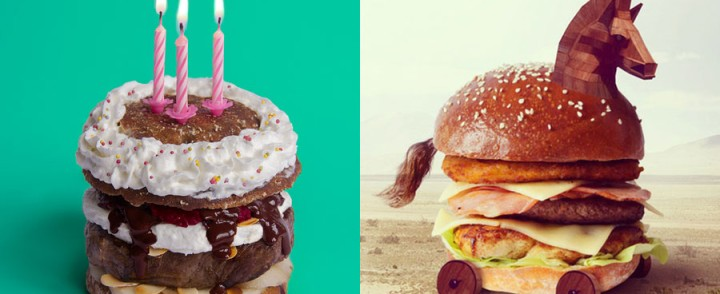 Insanely Delicious Hamburger Art Makes Us Hungry