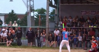 Backward Swing Home Run
