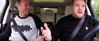 Late Late Show – Carpool Karaoke with Chris Martin