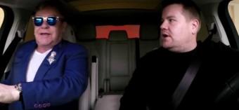 Late Late Show – Carpool Karaoke with Elton John