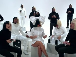 Tonight Show – Sia, Jimmy Fallon and The Roots