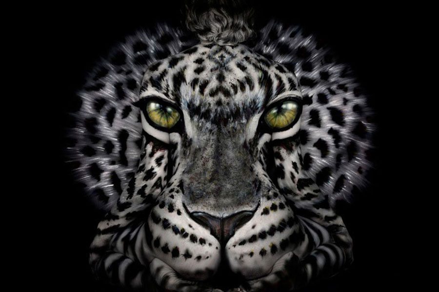 Body Art Tiger