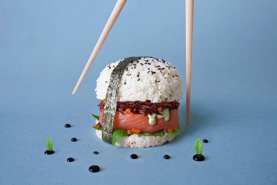 Burger Art Sushi