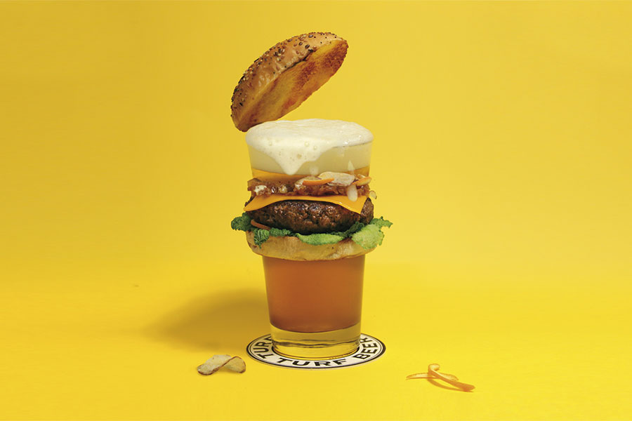 Beer Burger Art Beerger